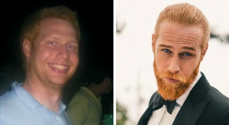 19 men who found a certain charm by growing a beard