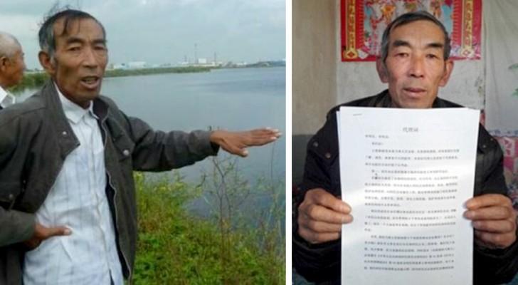 Un campesino estudia Derecho de manera autodidacta para llevar a los tribunales a la empresa que ha contaminado su tierra