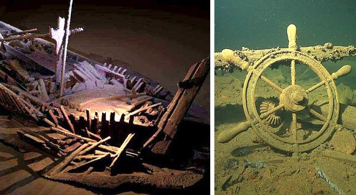 60 schepen van 2500 jaar oud bij toeval gevonden op de bodem van de Zwarte Zee: zonder zuurstof bleven ze intact