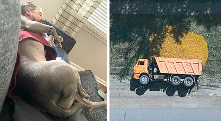 Magie della prospettiva: 20 foto scattate da angolazioni inconsuete che sembrano scene fuori dal mondo