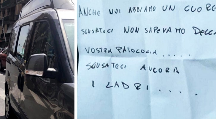 Ladri rubano la macchina di una donna disabile ma poi si scusano e la restituiscono: