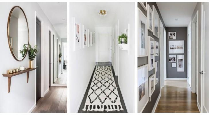 Les meilleures précautions pour meubler un couloir étroit et long afin de le valoriser au maximum