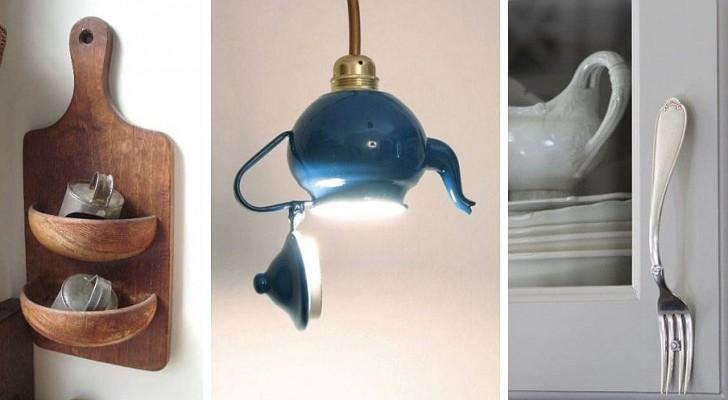 10 projets de recyclage créatif pour donner une nouvelle vie à de vieux ustensiles et accessoires de cuisine