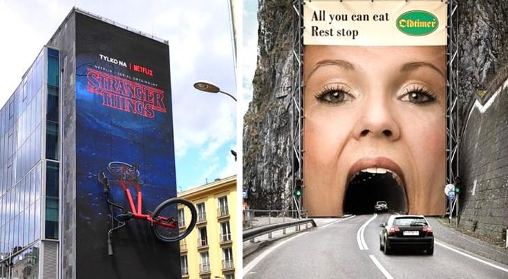 21 pubblicità geniali e creative che sanno davvero come attirare l'attenzione di chi le guarda