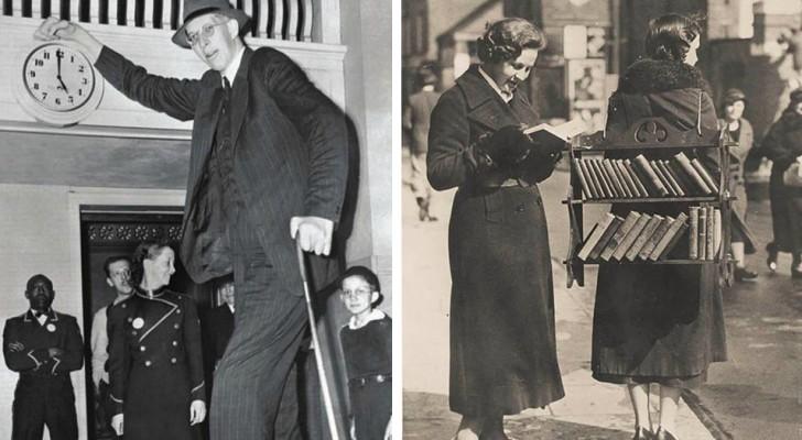 15 zeldzame historische foto's geven belangrijke momenten uit het verleden weer en katapulteren ons naar een ander tijdperk