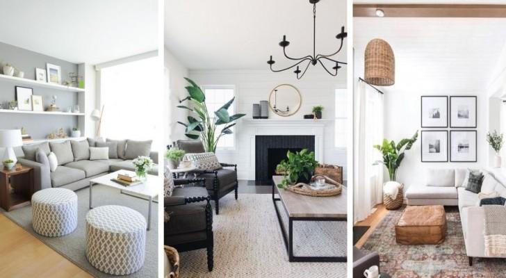 7 consigli per creare un salotto piacevole e rilassante secondo i dettami del feng shui