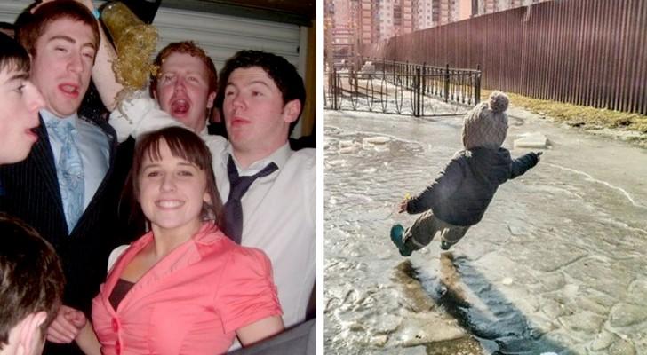 16 fotos que fueron tomadas exactamente un momento antes que ocurriera un desastre anunciado