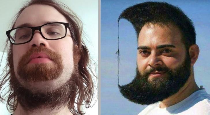 16 personas convencidas en haber lanzado una nueva tendencia pero que en realidad solamente se han  equivocado de peluquero