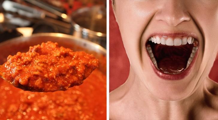 Une mère prépare de la sauce bolognaise, sa fille vegan la menace et l'affaire finit au tribunal