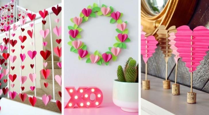 8 romantici lavoretti con la carta per celebrare San Valentino con creatività