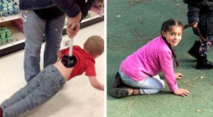 15 cose stupide fatte dai bambini e che mamma e papà hanno dovuto assolutamente documentare in foto