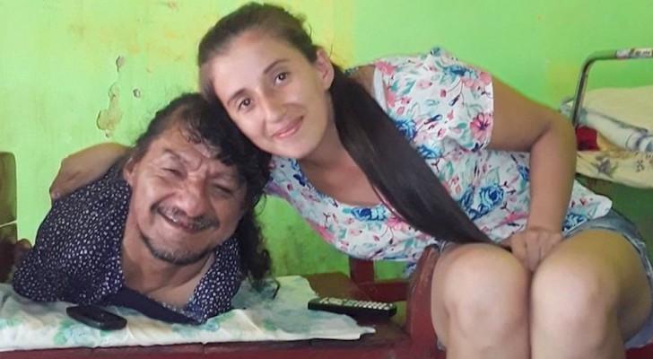 Hij werd geboren zonder armen en benen en voedde zijn twee dochters op zonder de hulp van zijn vrouw: Hij is de beste vader ter wereld