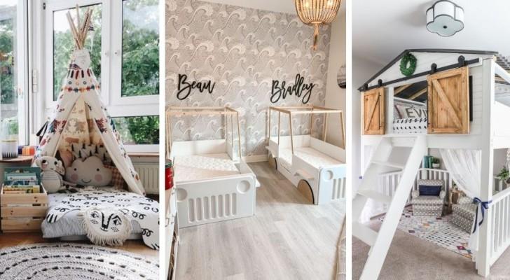 11 proposte irresistibili per creare letti fantastici nella camera dei bambini
