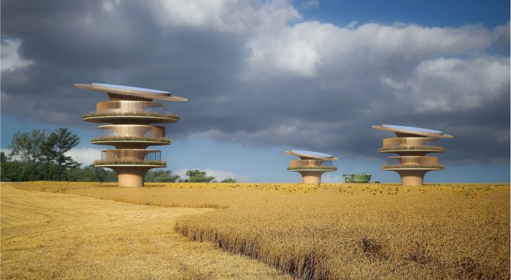 È stata progettata la Sunflower House: la casa che ruota seguendo il movimento del sole, come un girasole