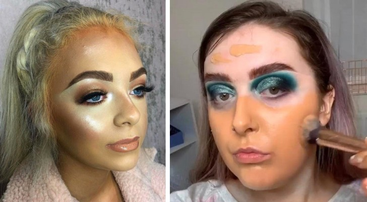 17 women who managed to make a real disaster with makeup