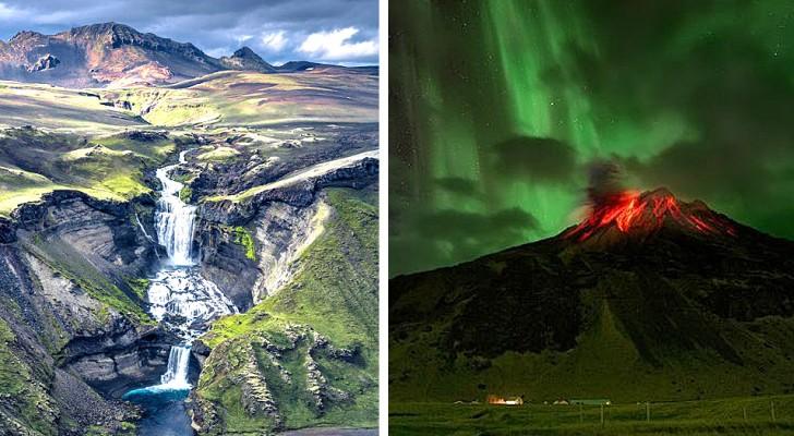 18 foto da sogno, ideali per fare un viaggio nella natura maestosa e spettacolare dell'Islanda
