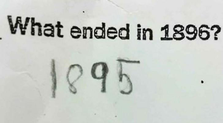 16 Schüler, die so kreative Antworten gaben, dass der Lehrer lachte