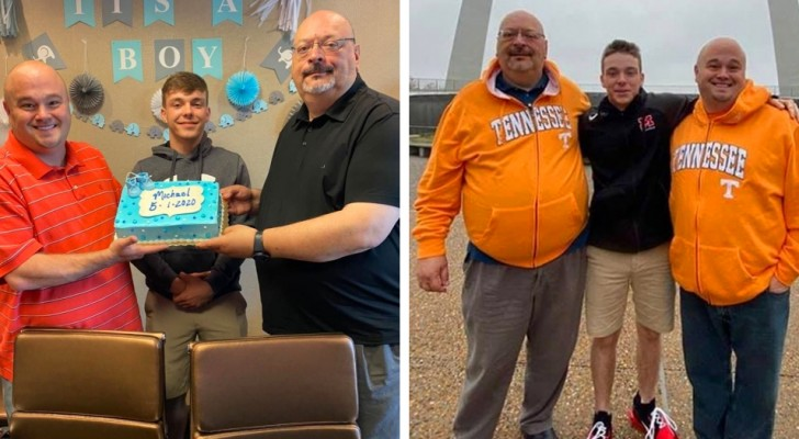 A 17-year-old boy is finally adopted by a gay couple after being rejected by 9 different families