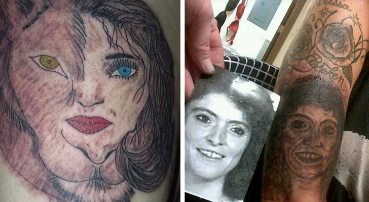 16 people bitterly regretted having a tattoo done by an unskilled tattoo artist