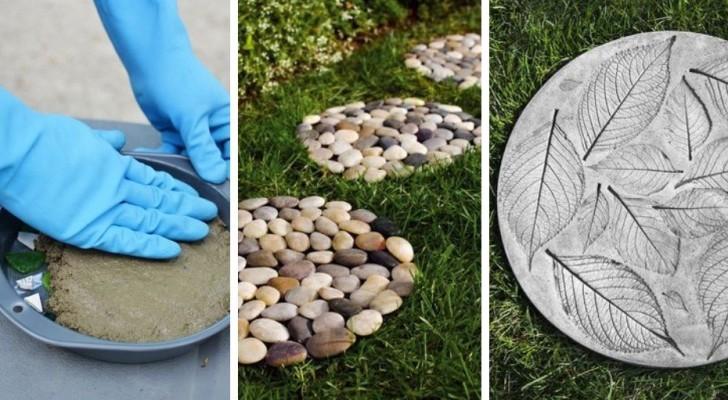 Il tutorial per creare fantastici passi giapponesi di cemento e rendere magiche le vostre aree verdi