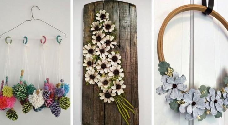 9 idées fantastiques pour décorer les pommes de pin et les transformer en création originales et colorées
