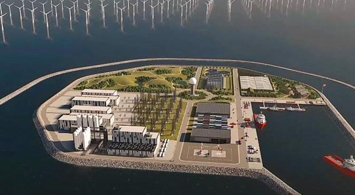 Le Danemark va construire la première île énergétique artificielle : l'énergie éolienne satisfera 10 millions de foyers