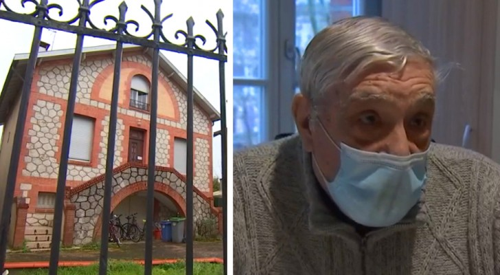 Squatters occupy the home of an 88-year-old man who wanted to sell it to join his wife in a retirement home