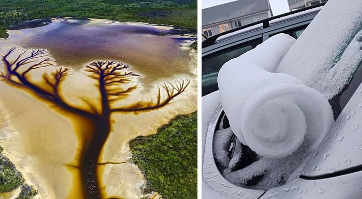 18 spectacles naturels qui ont réussi à nous étonner avec des effets spéciaux dignes d'un grand film