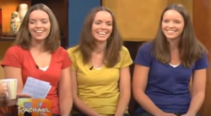 También los padres se cansan a distinguirlas: 3 gemelas se someten a un radical cambio de look