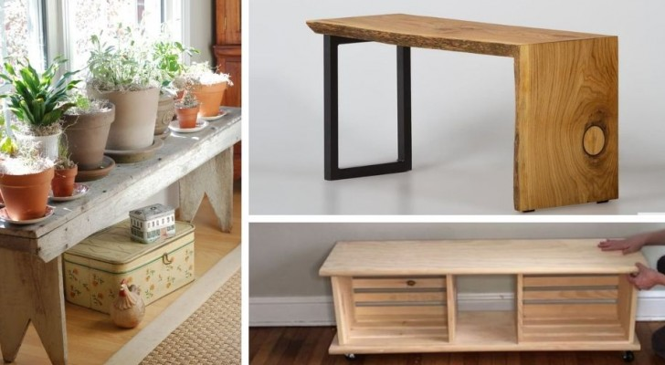 Come realizzare una panca in legno fai-da-te: 8 modelli da cui trarre spunto