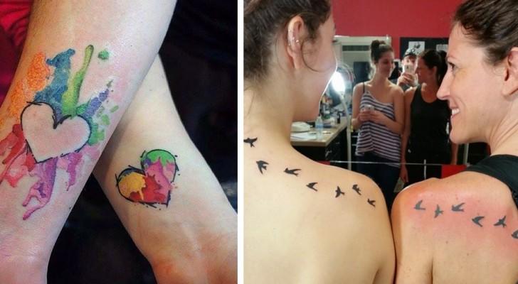 14 emozionanti tatuaggi celebrano il rapporto madre-figlia in maniera speciale