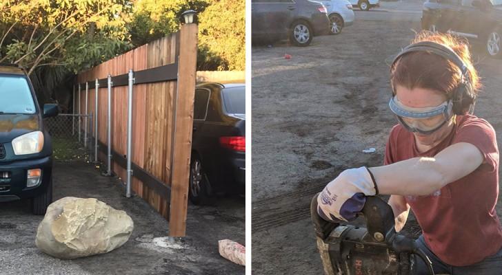 Les voisins bloquent sa voiture avec un rocher : la géologue se venge pour leur donner une leçon