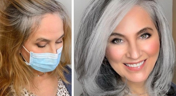 Gray hair: 15 women who gave up on dye and preferred to show off their natural color