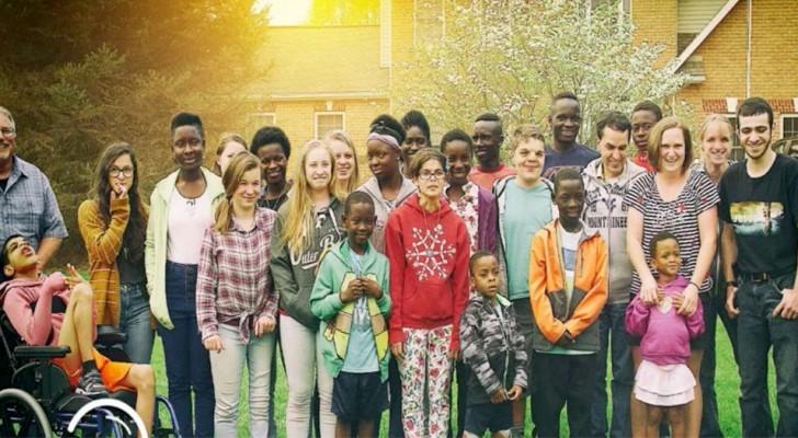 Questa coppia ha adottato 38 bambini e non ha assolutamente intenzione di fermarsi qui