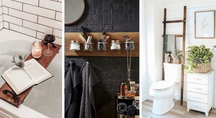 Aggiungi comfort e stile al tuo bagno spendendo poco con queste 11 trovate brillanti