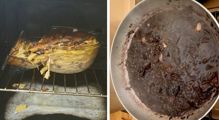 At least I tried!: 16 people who tried to be chefs at home and failed miserably