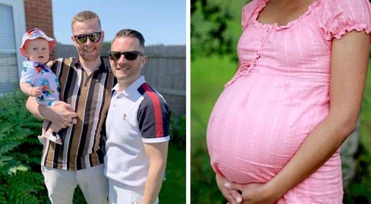 Moeder van 6 kinderen helpt haar homoseksuele broer en zijn partner om vader te worden terwijl ze hun toekomstige kind draagt