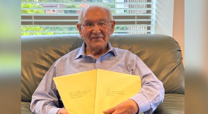 At the age of 104, he obtained his PhD by solving an impossible equation: