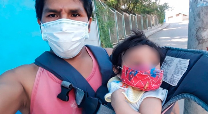 An insensitive mother abandons her daughter with a cleft lip because she didn't want problems: now, the single dad asks for help
