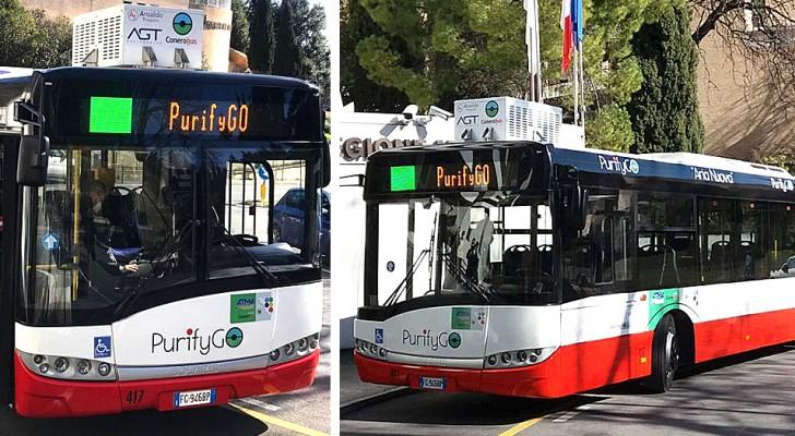 Questi speciali autobus riescono a