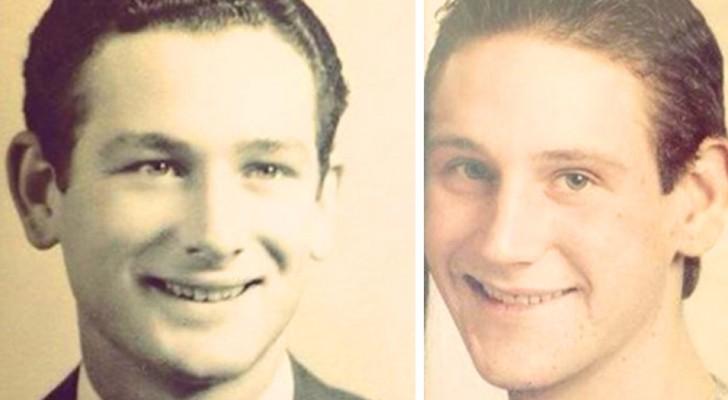 Le pouvoir de la génétique : 18 photos de personnes qui ont découvert qu'elles ressemblaient à leurs parents