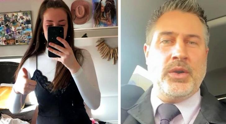 Studentessa di 17 anni viene rimandata a casa perché il suo vestito