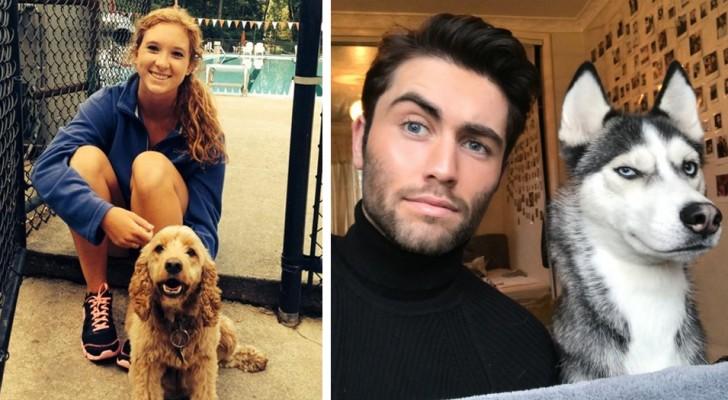 Tale cane, tale padrone: 14 persone testimoniano l'incredibile somiglianza con i loro cuccioli