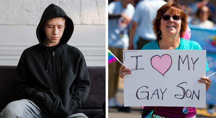 Il figlio dichiara di essere gay e il padre lo caccia di casa: la madre chiede immediatamente il divorzio