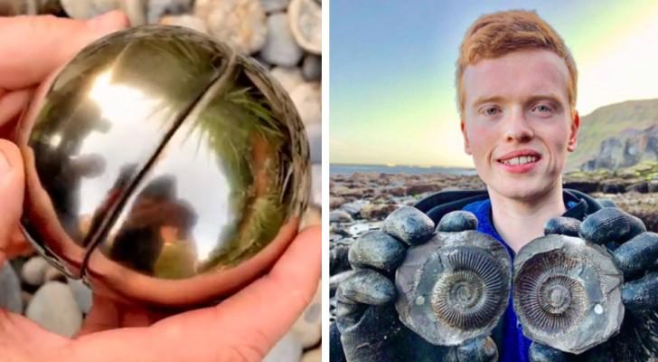 Student findet einen goldenen Schnorchel, der ein 185 Millionen Jahre altes Meerestier in sich birgt
