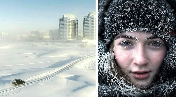 Le affascinanti immagini di questo fotografo ci mostrano cosa significa vivere a -50°C in Jacuzia