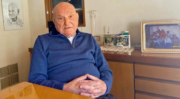 Gebt ihr meine Dosis: Mit 91 Jahren gibt er seinen Anti-Covid-Impfstoff an die verzweifelte Mutter eines behinderten ab