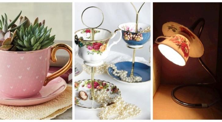 Donnez une nouvelle vie à votre vieux service à thé avec des idées irrésistibles pour décorer et meubler