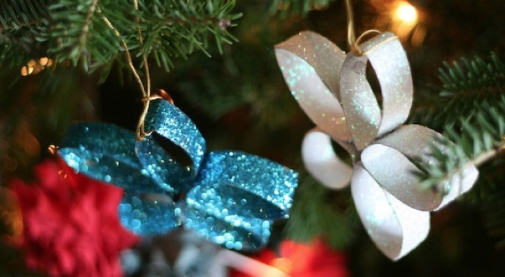 These cute decorations are made from something we ALL have at home!