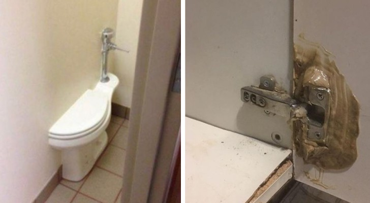 Ein Arbeiter mit viel Sinn für Humor fängt die schlimmsten Baufehler ein: 15 absurde Beispiele